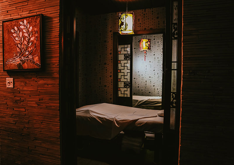 Body Massage Rooms with Massage Tables at Treat Your Feet Doraville