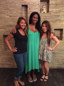Kenya Moore from Real Housewives of Atlanta at Treat Your Feet Doraville