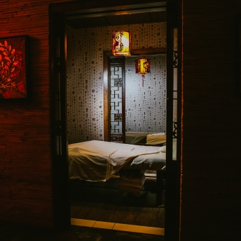 Couples Massage Room at Treat Your Feet Doraville - OTP Atlanta Massage Spa